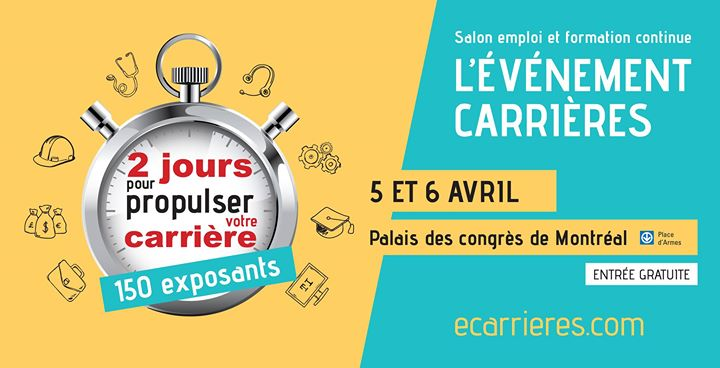 Salon v nement carri re forum 2020 for Salon recrutement 2017